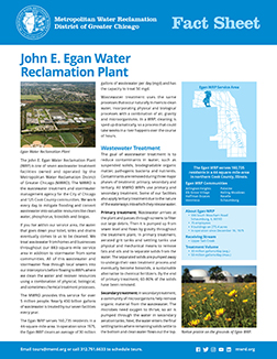 Egan Fact Sheet