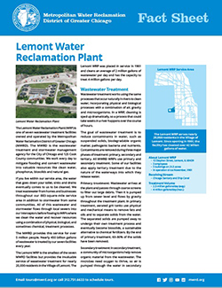 Lemont WRP Fact Sheet