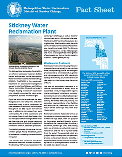 Stickney WRP Fact Sheet