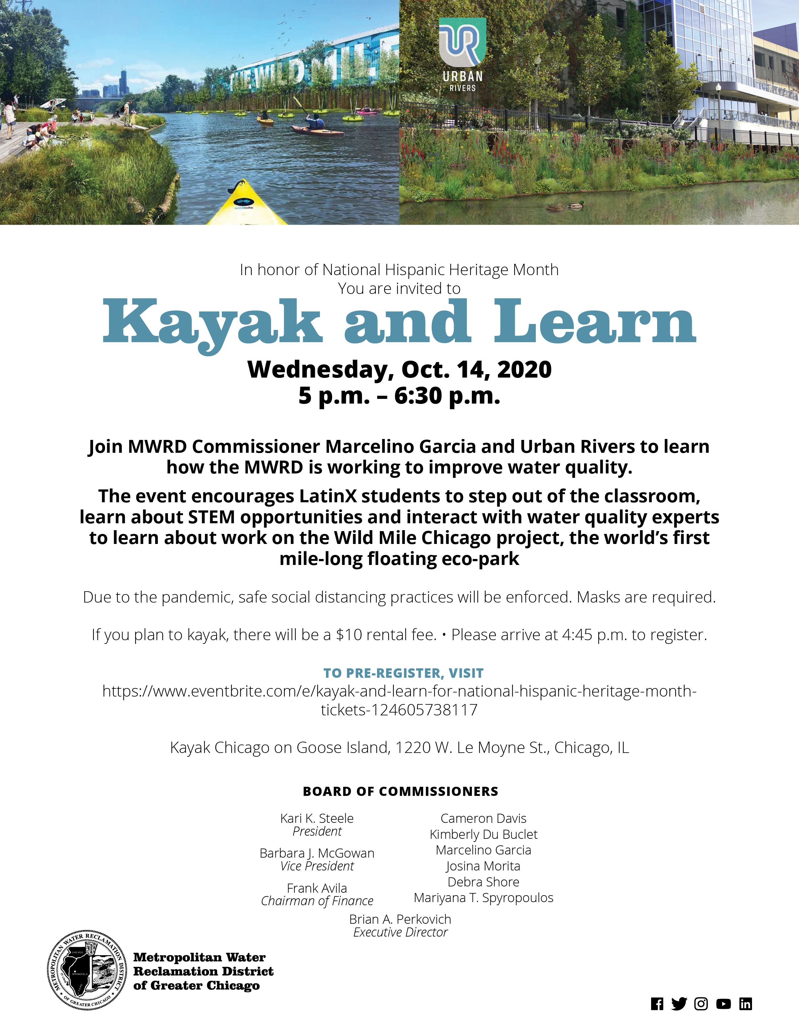 Kayak and Learn Invite